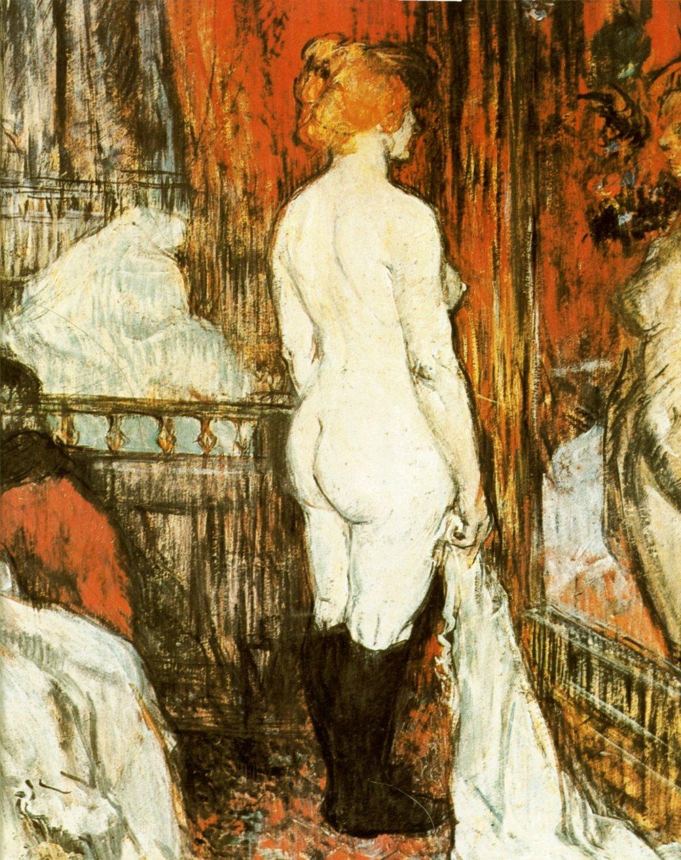 Lautrec_-_Femme_nue_devant_sa_glace